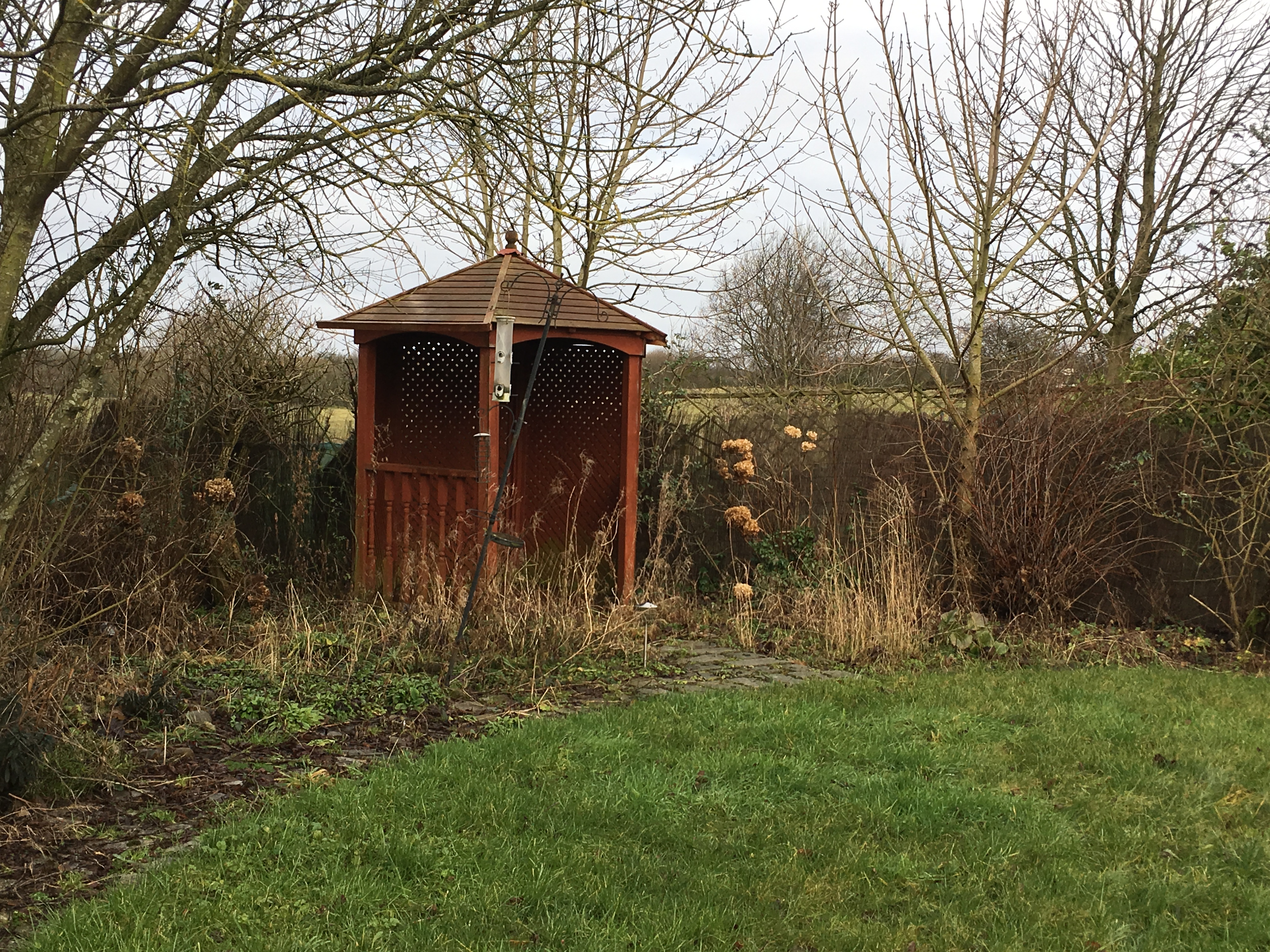A Certificate of Lawful Development achieved for a garden that had been extended into the Green Belt